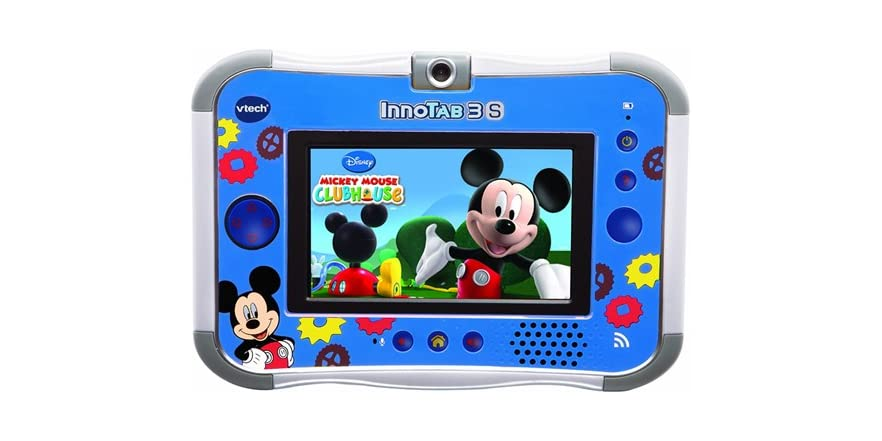 With VTech Kid Connect Basic (included) you can wirelessly exchange text and fun stickers between the InnoTab 3S and smart phones. Kids can also connect with friends and siblings safely with tablet-to-tablet communication between two InnoTab 3S tablets no matter where they are- anytime, anywhere.