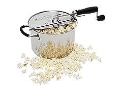 StovePop Stainless Steel Popcorn Popper