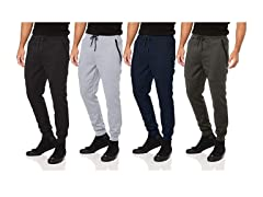 Men's French Terry Joggers w Zip Pockets
