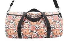 Warm Flowers Duffle Bag