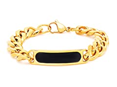 18kt Plated Cuban Bracelet w/ Olish
