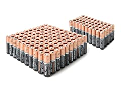 AA & AAA Alkaline Batteries - 150 Super Pack