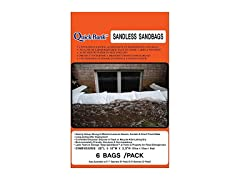 Quick Bank Sandless Flood Sand Bags