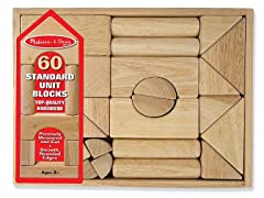 60-Piece Wooden Block Set