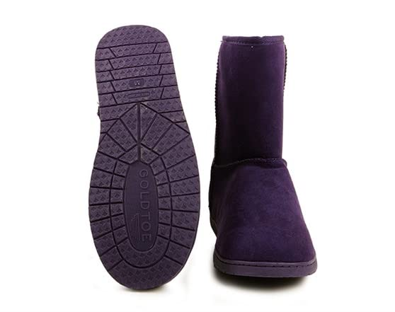 s goldtoe micro suede cozy boots 5 colors fashion