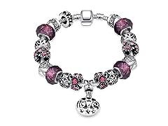 Purple Fusion Charm Bracelet