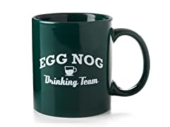 """Eggnog Drinking Team"" Mug"