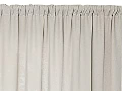 "Raima 52"" x 96"" Gray-Set of 2"