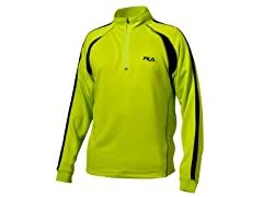 Match 1/4 Zip - Lime Punch