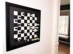Home Magnetics Magnetic Wall Chess Set