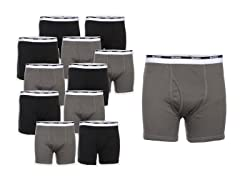 Gildan Men's Boxer Briefs 12-Pack