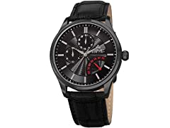 August Steiner Men s Multifunction Dual Time Watch
