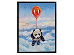 Michael Creese Balloon Ride Framed Art