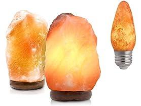UmAid Salt Lamp 2PK & Light Bulb Bundle