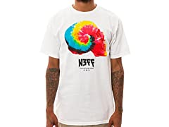 Neff Dome Piece Tee - White
