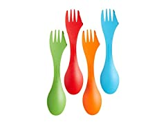 Light My Fire Original BPA-Free Tritan Spork 4-Pack
