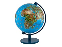 "DinoZ 6"" Illustrated Globe"