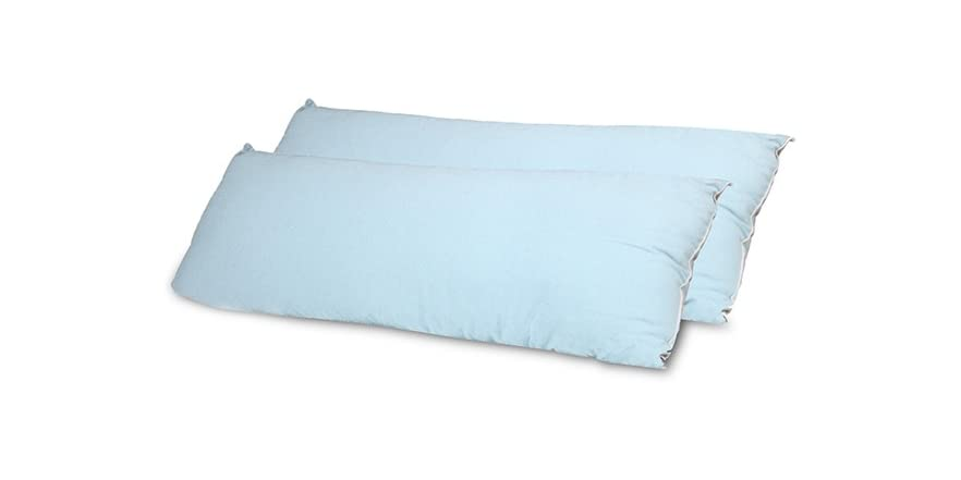Serta Perfect Sleeper Flannel Body Pillows S 2 3 Colors
