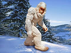 Abominable Snowman Yeti, Large