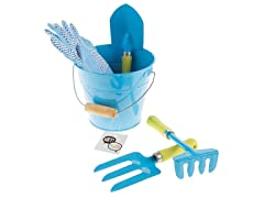 Kid's Garden Tool Set with Bucket