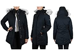 Women's Heavyweight Parka Jacket+Detachable Hood