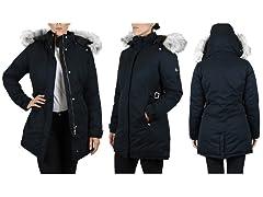Women's Heavyweight Parka Jacket+Detachable Hood (Open Box)