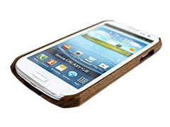 Walnut Case for Samsung Galaxy S3