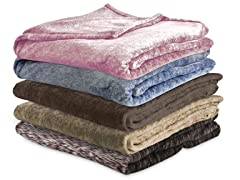 Serta Heather Blanket/Throw