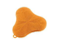 Stay Clean Silicone Clover Scrubber