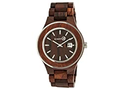 Earth Cherokee Wood Bracelet Watch (Open Box)