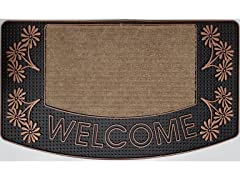 Outdoor Mat - Aloha Welcome, Bronze
