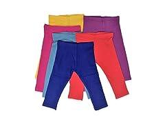 Kids Unisex Cotton Stretch Snug Leggings