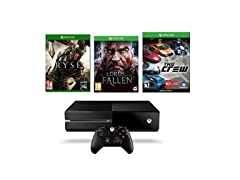 Xbox One 1TB with 3 Games