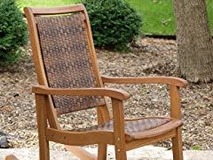 Rocking Chair, Brown