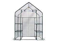 Walk-in 3-Tier 6-Shelf Greenhouse
