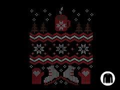 Ugly Holiday Sweater 2014 Crewneck Sweatshirt