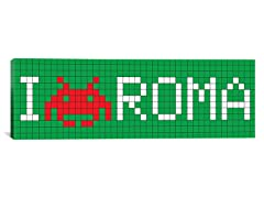 I Invade Rome Tile Art 36x12 Thin