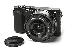 Sony 16.1MP Camera w/ 16-50mm Lens