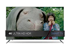"JVC 49"" or 55"" Class 4K Ultra HD HDR Smart LED TV"