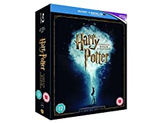 Harry Potter: The Complete 8-Film Collection-Blu-ray