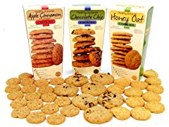 Healthy Cookies - Set of 6 Boxes