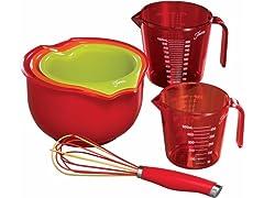 Fiesta 6pc Mix & Measure Kitchen Set