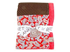 Receiving Blanket- Chocolate Kiss