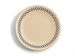 "K by Keaton Salad Plate 8.5"" Wheat Set of 4"