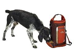 Dog Whisperer Food And Hydration Travel Pack Org/Brn