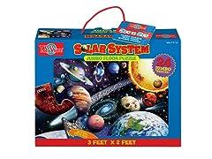 Solar System Floor Puzzle