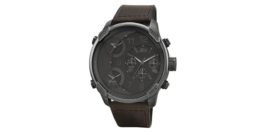 JBW Men's Genuine Diamond Watch