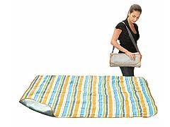 Summer Stripe Easy Roll Up Blanket