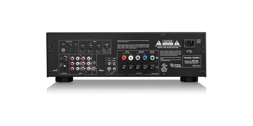 harman kardon 5 1 a v receiver w bluetooth adapter. Black Bedroom Furniture Sets. Home Design Ideas
