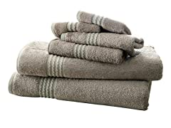 6-Piece Rayon from Bamboo Towel Set